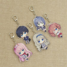 DARLING in the FRANXX Keychain Keyrings Phone Charm Figure Key Chain Accessories