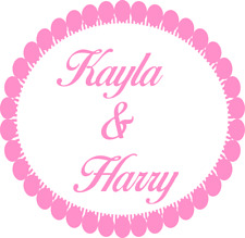 PERSONALISED ROUND STICKERS LABELS WEDDING PARTY FAVOUR MATT GLOSS CLEAR