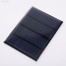 41C6 Portable Power Solar Panel For Battery Charger 6V 330mA 2W 110mm × 136mm .