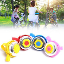 071D Sunflower Shaped Children Girls Bike Bicycle Cycling Bell Ring Hoorn Alarm