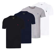 Ralph Lauren Men's Short sleeve Polo T-shirt 100% Cotton  Custom Fit On Sale