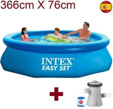 "Piscina hinchable INTEX 366cm X 76cm 12""x30"" 3.66m de plástico desmontable"