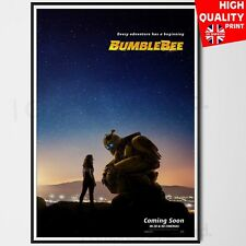 BumbleBee Poster Transformers Spin Off Movie 2018 Travis Knight   A4 A3 A2 A1  