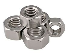 M5 M6 M8 M10 M12 M16 HEX FULL NUT DIN 934 A2 STAINLESS STEEL HEXAGON NUT