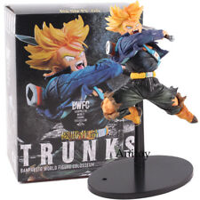 Figurine Dragon Ball Z Trunks Blade Super Saiyan Sword Anime Figure PVC 14cm Box