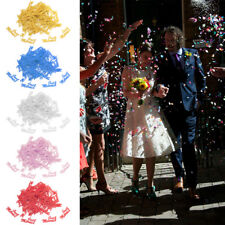 350Pcs Just Married & Heart Metallic Table Wedding Confetti Decoration Sprinkle