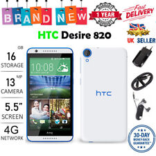 New HTC Desire 820 DUAL SIM 16GB 13MP Android 4G LTE Smartphone - 3 Colours uk