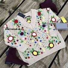 NEW ZARA AW17 FLORAL EMBROIDERED SWEATER REF 7763/100 SIZE S  JERSEY BORDADO