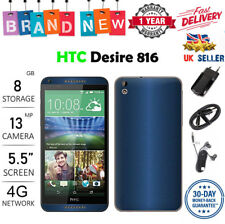 New HTC Desire 816 DUAL SIM 8GB 13MP Android 4G LTE Smartphone - 3 Colours A+