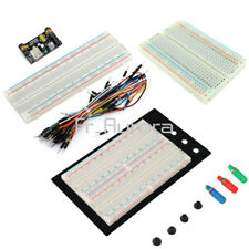 400 830 MB102 Point Breadboard 1660 Power Supply Module Jump Wire For Arduino