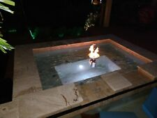 Floating Propane Fire Bowls for your Pool or Pond from EasyFirePits