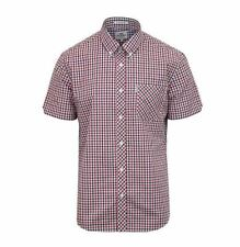 BNWT - Ben Sherman House Check - Red/Black - Mod / Latest Collection  S - XXL