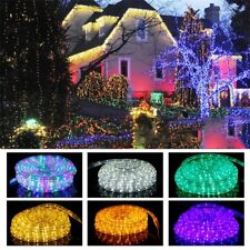 5m/10m/20m LED Flexible Tira Luces Tape Rope Luz Tira Outdoor Impermeable 220V