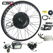Electric Bike Kit Rear Snow Wheel 26inch 4.0 Tyre 48v Fat Bicycle Conversion Kit