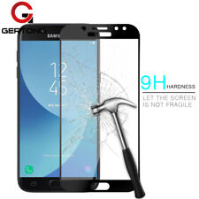 Full Cover Tempered Glass For Samsung Galaxy J5 Black Covers Screen Protectors