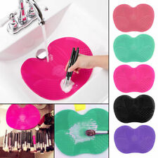 Large Silicone Makeup Brush Cleaner Cosmetic Board Mat Pad Tool