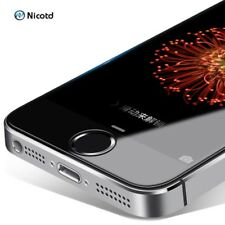 Tempered Glass Coated Clear Screen Protector For iPhone 5 5s 5c SE Cases Film