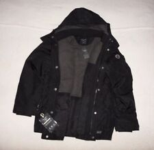 Mens Abercrombie & Fitch All-Weather Half Fleece Hoodie Jacket Size M, L
