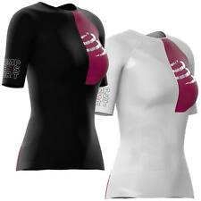 Compressport Triathlon Postural Aero Shirt Women Tri 226 Ironman Laufshirt Damen
