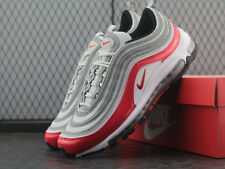 NEW Nike Air Max 97 Pure Platinum University Red Silver EU40-45 921826-009