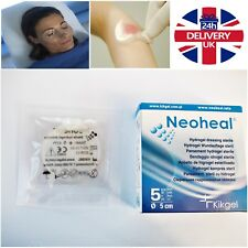HydroGel Dressings 5cm x 5cm difficult heal wounds absorbing Tissue Regeneration