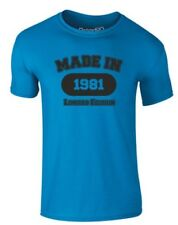 brand88 - MADE IN 1981, adulti T-SHIRT STAMPATA