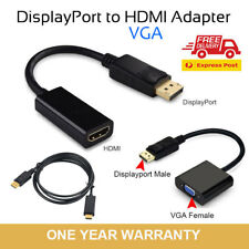 Displayport Display Port DP Male to VGA HDMI Male Female Converter Adapter Cable