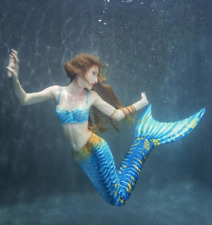 Caribbean Dream Mermaid Tail For Adults With Monofin For Swimming by Mertailor