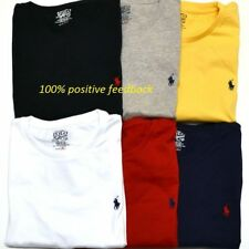 Men's Ralph Lauren Cotton Short Sleeve Polo T-shirt: All Sizes