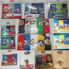Boys Multi-packs of Character BRIEFS/PANTS &/or VESTS - Size 18 Months - 12 Yrs