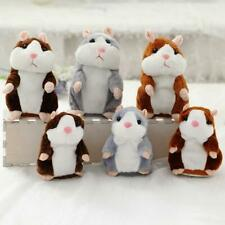 Talking Hamster Repeat Your Sound  Stuffed Plush Animal Toys For Children Gifts