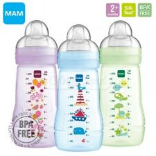 MAM Baby Feeding Bottles Medium Flow Teats 270ml