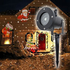 Moving LED Laser Projector Light Landscape Indoor/Outdoor Xmas Party Garden Lamp