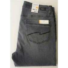 Angels Dolly modische 5-Pocket Jeans in Grau Used Comfort Fit Stretch
