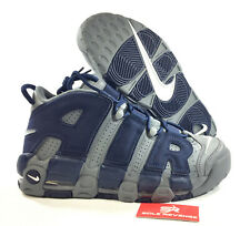 """NIKE AIR MORE UPTEMPO '96 921948-003 """"COOL GREY/MIDNIGHT NAVY"""" Scottie Pippen"""