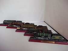 Mint Condition Various OO Gauge 1:76 Scale Static Mounted Steam Engine Models