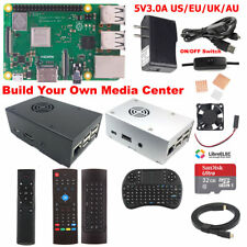Raspberry Pi 3 Model B+ B Plus Media Center Kit M3B01