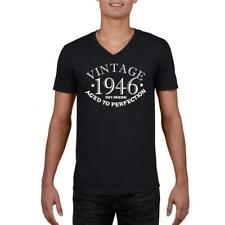 72nd Birthday Present Gift Year 1946 Aged To Perfection Funny T-Shirt Unisex Old