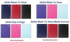 2019 A4/A5 Size Week to View/Day A Page Desk Diary- Desk Diary/Office Diary
