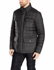 Tommy Hilfiger Men's Four Pocket Box Quilted Military Jacket - Choose SZ/Color