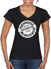72nd Birthday Gift Present Year 1946 Aged To Perfection Womens V Neck T-Shirt