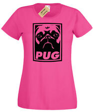 PUG Womens T-Shirt ladies top