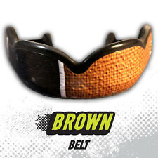 DAMAGE CONTROL BROWN  BELT HIGH IMPACT MOUTHGUARD GUM SHIELD MMA UFC