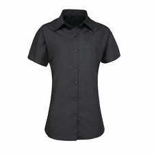 CLASSIC BLACK SHIRT/BLOUSE: MODERN HIGH QUALITY SMART STYLE IN SOFT COTTON INS45
