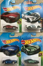 Hot Wheels Toy Car Aston Martin One-77 / Vantage GT3 (4 Cars to Choose)