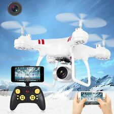 Wifi FPV RTF 2.4G 4CH  RC Quadcopter Camera Drone with HD Camera Helicopter LED