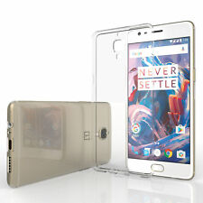 Clear Transparent Soft TPU Silicone Gel Cover for One Plus Mobile-Various Model