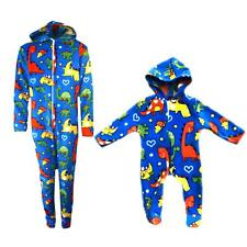 Baby Boys Girls Fleece One Piece Pajamas Outfit All In One Dinosaurs  Onesie0-10 67ba1f859