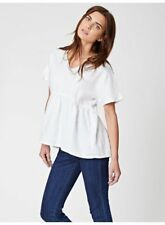Ladies Thought Jazmenia V-Neck Hemp Top