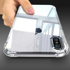 Shockproof Clear Case For Apple iPhone XS XR XS Max 8 Plus Transparent TPU Cover